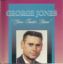 GEORGE JONES - YOUR TENDER YEARS CD - LIKE NEW/FREE SHIP USA