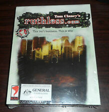PC CD. Tom Clancy's Ruthless.com Sealed