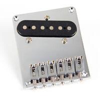 6 Saddle Bridge Pickup Screws for Fender Telecaster Guitar Replacement Chrome