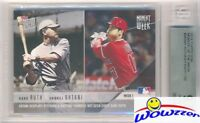 2018 Topps Moment BABE RUTH & SHOHEI OHTANI ROOKIE Limited Edition BGS 9.5 GEM