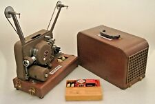 VTG Antique Movie-Mite 63LMB 16 mm Film Projector Sound or Silent Speaker Case