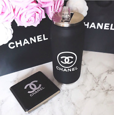 NEW w/ Box Chanel VIP Black Travel Drink Coffee Mug Cup Thermo Container