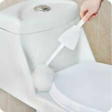 Multifunction Toilet Cleaning Brush Soft Bristle Home Bathroom Cleaner Tool
