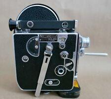 Paillard Bolex H-8 8MM Film Movie Camera, 2 Lenses, Works