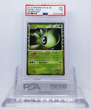 Pokemon HGSS TRIUMPHANT CELEBI PRIME #92 HOLO FOIL CARD PSA 7 NM #*
