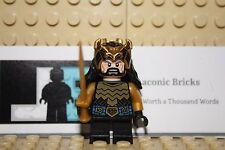 LEGO LOTR HOBBIT MINIFIGURE! AUTHENTIC! THORIN 79017 W/ GOLD SWORD!