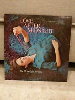 Vintage Love After Midnight The Moonlight Strings Record Vinyl 33 RPM LP