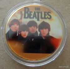 The Beatles 24KT GOLD MEMORABILIA COLLECTIBLE COIN #40se