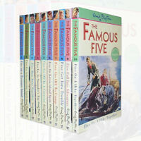 Enid Blyton Young adult Action Adventure Stories of Famous Five 10 Books Set NEW
