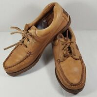 Levis shoes Mens Moccasins Loafers Boat Shoes Brazil Leather 456I23 9 M Tan