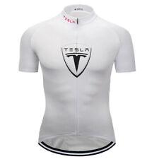 Cycling Jersey Bike Shirt Bicycle Motocross Tshirt Tesla Race Clothing Riding