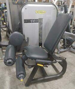 TechnoGym Leg Curl machine.  200lbs stack.