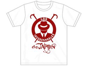 LIJ White X Dark Red Team Logo Shirt - NJPW