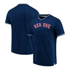 Boston Red Sox Fanatics Navy Blue True Classics V-Neck Jersey Shirt