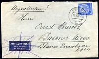 GERMANY TO ARGENTINA Cover 1939, VF