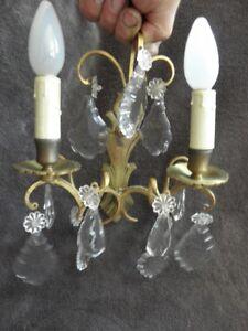 antique lamp wall lamp sconce light Victoria bronze CENTURY Pendant glass luxury