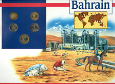 Coins of the World Bahrain 100,50,25,10,5 Fils 1992 Brilliant Unc