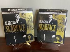Scarface Gold Edition (4K Ultra HD+Blu-ray+Digital+Slipcover) Factory Sealed