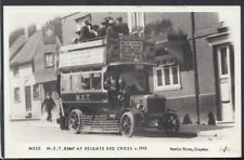 Surrey Transport Postcard - M.E.T.B2447 at Reigate Red Cross  RS11527