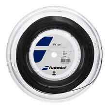 NEW TENNIS STRING BABOLAT RPM TEAM 200M - 2 GAUGES BLACK