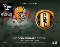 JACKSONVILLE JAGUARS 2020 Panini Gold Standard Football 12 Box FULL CASE Break
