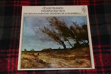 Cesar Franck~Symphony In D~The Czech Philharmonic Orchestra~Sir John Barbirolli