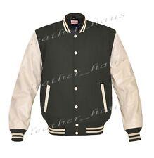 Genuine Leather Sleeve Letterman College Varsity Women Wool Jackets CRSL-CSTR-CB