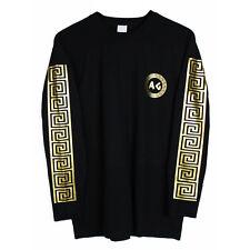 Agora Greek Long Sleeve T Shirt Tee Top been palace trill Sz L NEW
