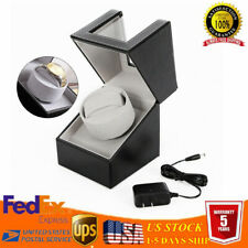 Display Box Leather Storage Sale Luxury Automatic Single Motor Watch Winder
