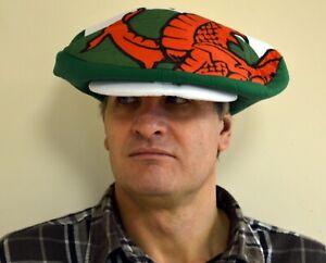 WELSH DRAGON design oversized FLAT CAP