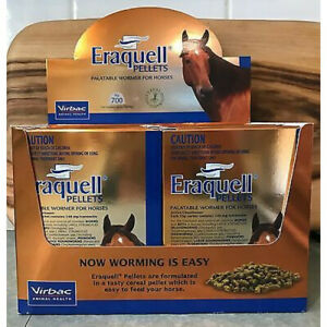 Virbac Eraquell Palatable Horse Equine Pellet Wormer - 35g (WVERAQL035)