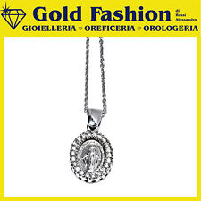 Pendente argento Tit.925 con madonnina - Thy Italy MA_02