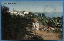 CPA MAROC: Junto al Mar / 1913