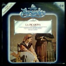 LA ZARZUELA Nº 40 - LA PICARONA - SPAIN LP ZACOSA 1980 - Vinilo Long Play 12""
