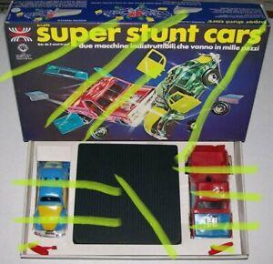 Harbert SUPER STUNT CARS Sigillate MIB! Kenner Spp Smash Derby TOUGH TOM BUGGEM
