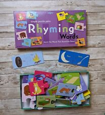 Rhyming Words Children's Game Vocabulary Development Ages 3+ Made In Usa