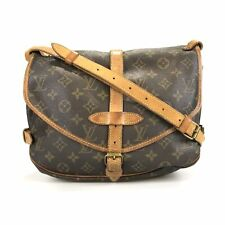 100% authentic Louis Vuitton Monogram Saumur 30 M42256 shoulder bag used 15-1-a