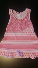 Naartjie size 18-24 summer dress tunic pink sleeveless