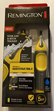 Remington Virtually Indestructible Dual Sided Nose, Ear & Brow Trimmer