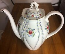 Royal Albert Fine Bone China Large Minuet Coffee Pot with Lid