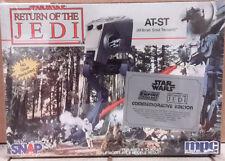 1992 STAR WARS ROJ AT-ST Fighter Snap Model Kit-MPC-FREE S&H (SWMO-8934)