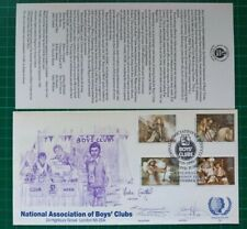 1985 Arthurian Legends National Association of Boys Clubs Official FDC