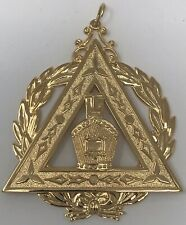 New Freemason Royal Arch Mason Past High Priest Officer Collar Jewel