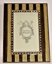 Olivia Riegel Addison Enamel & Swarovski Crystal Picture Frame 4 x 6