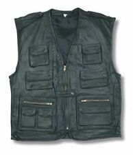 Unbranded Leather Waistcoats for Men