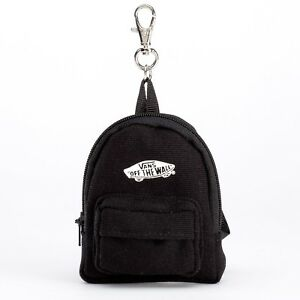 Vans Off The Wall Backpack Keychain - Black