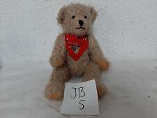 Alter Teddybär um ca 1950-60 Länge ca 40 cm (JB5)