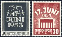 BERLIN, MiNr. 110-111, 110-11, tadellos postfrisch, gepr. Schlegel, Mi. 50,-