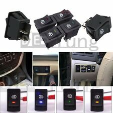 4-Pin LED ON/OFF Indicator Rocker Switch for Driving Fog Lamp DRL Turn Light Bar