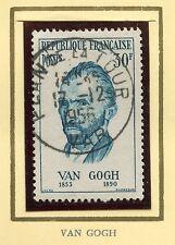 STAMP / TIMBRE FRANCE OBLITERE N° 1087 / CELEBRITE / VAN GOGH